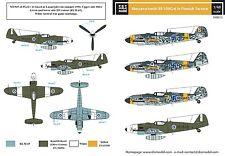 SBS Model 1/48 Messerschmitt Bf-109G-6 in Finnish service decal sheet D48013
