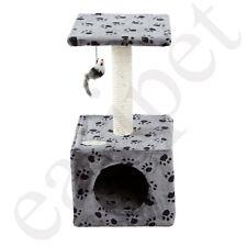 Cat Tree Scratcher Scratch Post Kitten Toy Scratching Activity Centre Easipet