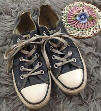 Converse Chuck Taylor All Star Low Top Sz Womens 5 Navy Blue Lace Up