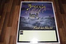 RIESEN POSTER / PLAKAT:  DRACULA --  FÜRST der NACHT // Maße:    76 x 63 cm