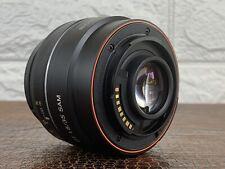 SONY DT 35mm F1.8 SAM Lens for Alpha A Mount APS-C Format (SAL35F18) Excellent++