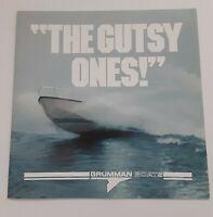 1980s Grumman Boats Brochure Very Rare VINTAGE Full Color RARE VTG