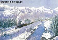 "Hornby Dublo in Railway Art ""Steam in the Rockies"" No. 12 Signed & Numbered."