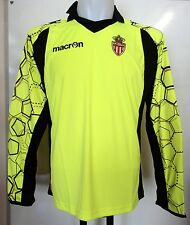 AS MONACO 2012/13 GOALKEEPERS SHIRT BY MACRON ADULTS SIZE EU LARGE BRAND NEW