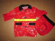 Boys FIREFIGHTER FIREMAN Halloween Costume standard size M Md med Imaginarium
