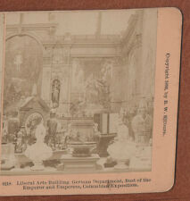 """COLUMBIAN  EXPOSITION  ""  ORIGINAL 1893. STEREOVIEW."