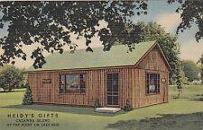 Ohio Catawba Island Lake Erie Heidy's Gift Shop 1956 Curteich sk980