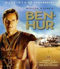 Ben-hur Blu-ray 1959 Charlton Heston 2 Disc 50th Anniversary Edition