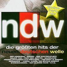 NDW - Die grössten Hits der Neuen Deutschen Welle / Endlos... | CD | Zustand gut