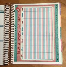 Coupon/Wish List Two-Sided Dashboard for use with Erin Condren Life Planner