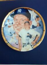 1992 Mickey Mantle Hamilton Collection Plate - Limited Edition #2145C  New
