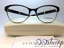 Versace Eyeglasses-OVE 1233-Q 1366 53 Black Pale Gold