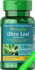 PURITANS PRIDE OLIVE LEAF EXTRACT 150 MG 120 CAPSULES 562