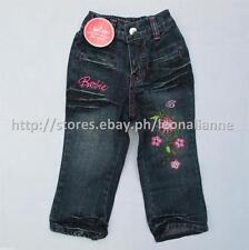 60% OFF! AUTH BARBIE GIRLS' DENIM PANTS SIZE 1 / 1-2 yrs BNWT P549.75