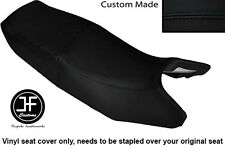 BLACK AUTOMOTIVE VINYL CUSTOM FITS HONDA CB 350 SG S-G DUAL SEAT COVER ONLY
