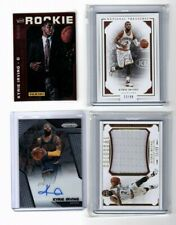 Kyrie Irving Lot of 4 cards Jersey Autograph Prizm Rookie Convention Treasures