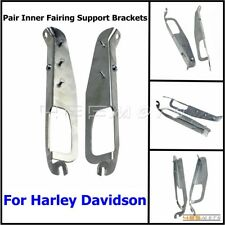Pair Motorcycle Inner Fairing Support Brackets For Harley Street Glide FLHX 2006