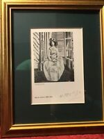 Henri Matisse Original Hand Signed Lithograph Limited Edition with COA 1937