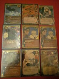 Naruto Series 4 & 6 lot (card game, collectible, ccg, tcg)