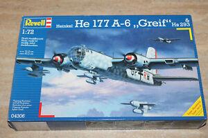 Revell 04306 Heinkel He177 A-6 Greif & Hs 293 1:72 NEU mit OVP