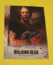 THE WALKING DEAD SEASON 3 TRADING CARD #27 BABY BIRTH  FREE SHIPPING & STICKER