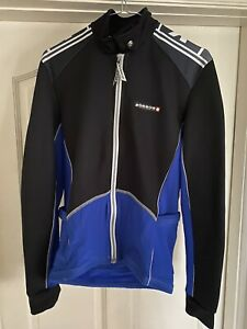 Assos Cycling thermal winter jacket jersey Blur black mens Small swiss