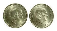 pcc1960_3) DANIMARCA 10 KRONER 1967 C S FEDERICO IX
