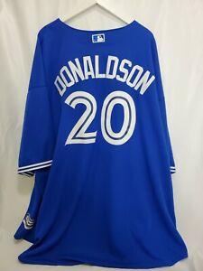 Toronto Blue Jays Majestic Baseball Jersey Josh Donaldson Size 6XL XXXXXXL BIG