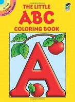 The Little ABC Coloring Book (Dover Little Activity Books) by Anna Pomaska