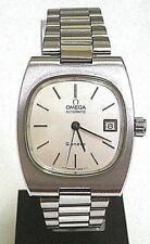 OMEGA - GENEVE AUTOMATIC CAL 1012 CIRCA 1973 SWISS WATCH, GENTS, ST ST, DATE, WR