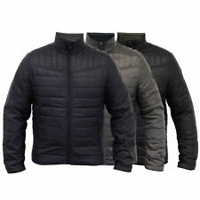 mens jacket Threadbare coat Padded quilted bomber lightweight lined winter new