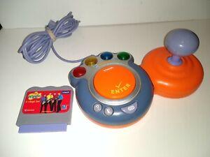 Vtech V Smile Orange Remote Joystick Controller & Wiggles game