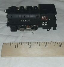 Vintage Life-Like HO Scale AT&SF Santa Fe Steam Locomotive For Repair See Descri