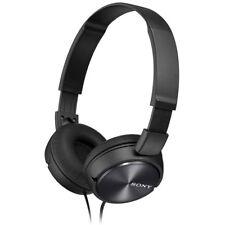 Nuovo di Zecca Sony MDRZX 310 Cuffie Pieghevole-Nero Metal