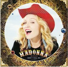 CD 2 T MADONNA *DON'T TELL ME*