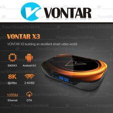 Vontar X3 2020 Smart TV Box Android 9.0 Wi-Fi RAM 4GB ROM 32GB 64GB 128GB S905X3