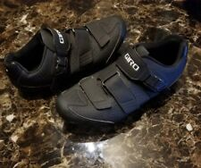 Giro Trans E70 HV Road Bike Shoes US 10.5 Easton EC70 Carbon Black Men's