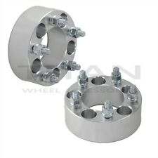 """(2) 2.0"""" 5x4.5 to 5 x 4.5 Wheel Spacers Adapters 
