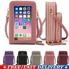 Women Crossbody Phone Purse Touch Screen Bag RFID Blocking Wallet Shoulder Strap