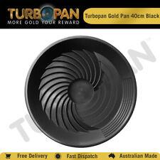TURBOPAN 40CM  PLASTIC GOLD PAN PROSPECTING PANNING SLUICE