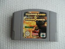 Jeu Nintendo 64 / N64 Game Command and Conquer PAL retrogaming original *