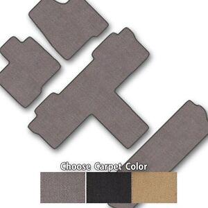 Classic Loop Carpet Floor Mat Set for Van Models - Choice of Color - 4 Pc Set