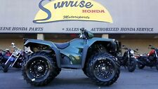 NEW 2017 Honda Foreman TRX500 4x4 foot shift GREEN with Winch and Mud Tires