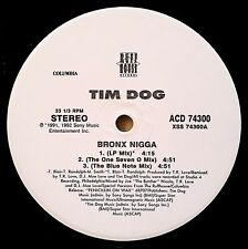 1992 - TIM DOG - BRONX NIGGA REMIXES - RUFFHOUSE ORIGINAL PROMO - ULTRAMAGNETIC