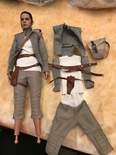 in Stock 1/6 Rey Daisy Ridley 7 pcs clothes set for Hot Toys MMS 377 Resistance