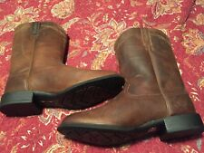 Mens Ariat 10 1/2 EE Western Cowboy Boots Very Nice Condition