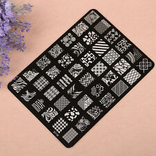 Trendy Women Beauty Nail Printing Plate Image Stamps Stamping Nail Art Decor