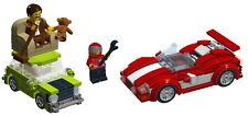 LEGO Mr Bean's car+Race car building instruction - No bricks