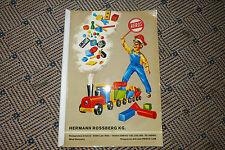 Holzspielwarenfabrik Lam Hermann Rossberg KG/Heros 1967/68/69