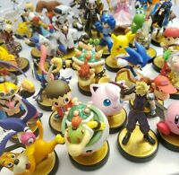 Super Smash Bros. Series Amiibo Lot! Ultimate Nintendo Switch Wii U 3DS US *Used